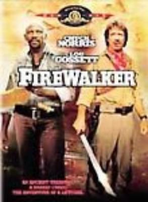 Firewalker DVD Movie Video Chuck Norris Louis Gosset ancient treasure curse MGM
