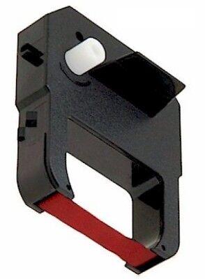 Fits Lathem 100e 700e 1000e 1500e 1600e 7000e Ribbon Cartridge Red