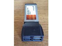 4 port USB 2.0 Hub ExpressCard