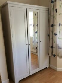 Ikea asplund 3 door mirro wardrobe , Free delivery