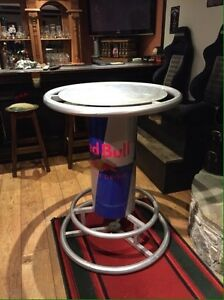Red Bull Collectors Table