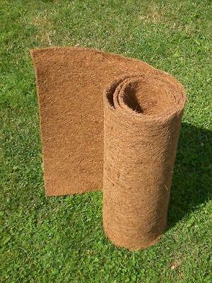 Kokosmatte 2 m x 0,50 m, Winterschutz, Kokosfasermatte, Pflanzkübel