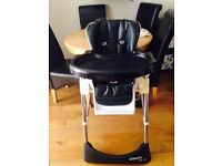 LEATHER COSATTIO HIGH CHAIR COST 150 AS NEW