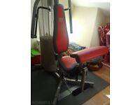 Weider Precision Versa Press Compact home Multi Gym