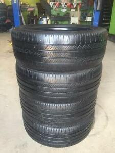 4 quality used P 225/50/18 Goodyear Eagle LS2 all season tires