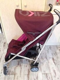 Girls Stroller Buggy Mamas and Papas Ziko Frankie in bubblegum (pink)