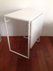ikea muddus drop-leaf table folding desk