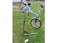 Bike tool repair clamp stand by union