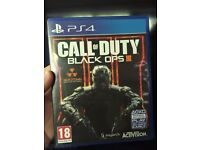 Black Ops 3 ps4 game. cheap and good condition