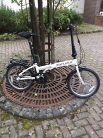 Carreras Transit 6061-T6 Foldable Bike - Excellent Condition (Hardly Used) RRP £320