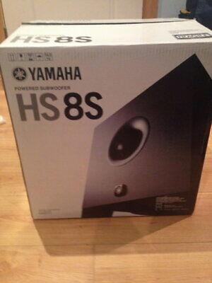 Yamaha HS8S Powered Studio Monitor Sub *BRAND NEW* 120 Voltage comprar usado  Enviando para Brazil