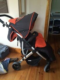 Pushchair dimples
