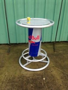 Red Bull Pub / Bar Table- Great for Pool area, Deck, Bar
