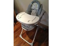 BRIGHT STARTS INGENUITY HIGH CHAIR