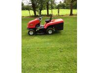 "Turbocut 42"" ride on lawnmower"