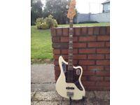 2009 Fender Jaguar Bass White
