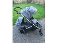 Phil and ted voyger (twin pram 2016 model) £599