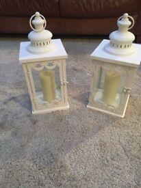 2 White Lanterns