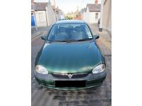 Great First Car!!! Cheap to Insure, Tax and great of Fuel. Well kept and engines perfect.