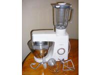 Kenwood KM336 Mixer Chef Classic 800W 4.6L + Liquidiser 1.5L
