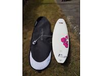 Bic Wahine Surf Board