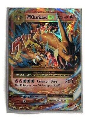 Mega M CHARIZARD EX 13/108 XY Evolutions Holo Ultra Rare New in Sleeve