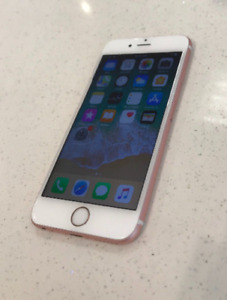 ROSE GOLD IPHONE 6S 32GB UNLOCKED WITH NEW ACCESSORIES