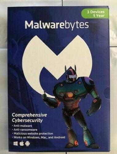 Malwarebytes Anti-Malware 4.0 Premium - 3 PC MAC / 1-Year NEW! (Latest Version)