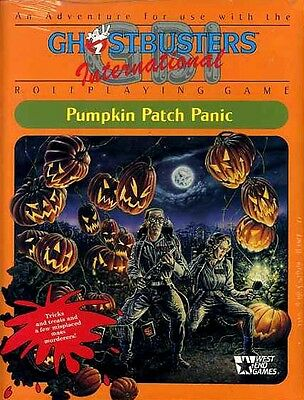 GHOSTBUSTERS PUMPKIN PATCH PANIC SEALED NEW West End Games Adventure Module (Ghostbusters Pumpkin)