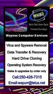 Waynes Computer Services , Diagnosis is always free,