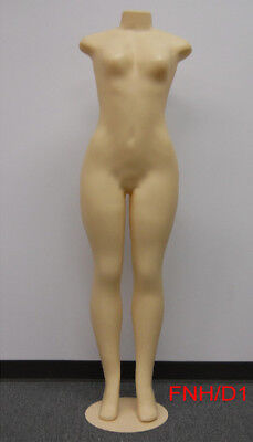 Female Brazilian Style Mannequin Full Bodyheadlessno Arms Metal Base