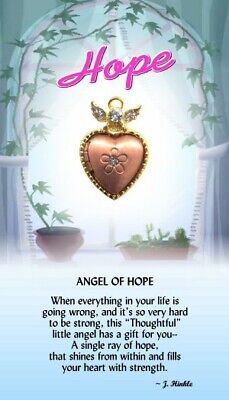 Thoughtful Little Angels -  Angel of Hope  Lapel Pin  #502