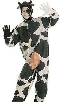 Comical Cow Costume Adult Funny Animal Humorous Bull Bovine Utters - Fast Ship - - Cow Costume Adults