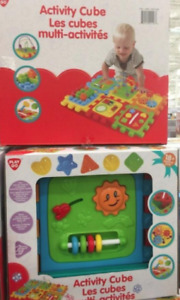 Baby/Toddler Activity cube- brand new in box