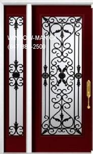 Single Front Entry SideLight Door  No middle man