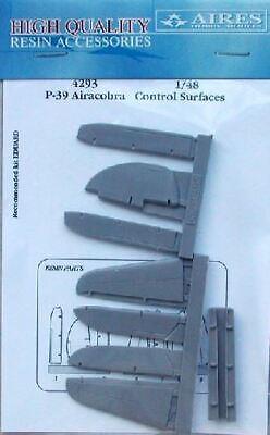 Aires Hobby 1/48 P39 Control Surfaces pour Edu D 4293