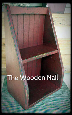 Primitive Cubbyhole Shelf Pattern WN130 for sale  Shipping to India