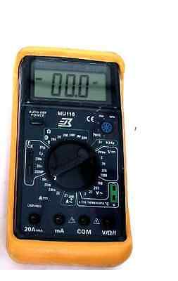 M-1750 Digital 6 Function Multimeter With Temp Frequency Counter