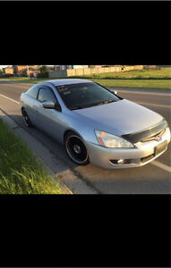 2005 Honda Accord Coupe LX 2.4L (5 Speed Manual)