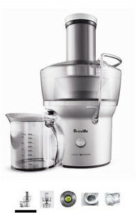 New Breville Juice fountain compact BJE200XL (juicer)
