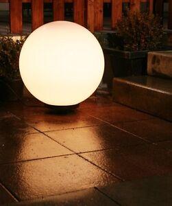 Lampada da giardino sfera luminosa globo illuminazione da - Sfere illuminazione giardino ...