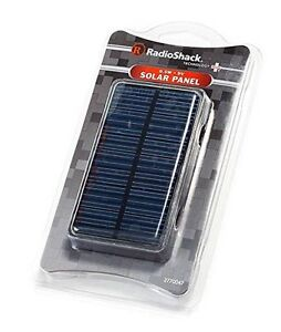 Radioshack 0 5w Watt 9v Solar Panel Power Cell For Charger