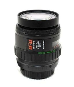 SMC Pentax F 28-80mm 3.5-4.5 K1 FULL FRAME Auto focus Macro Zoom