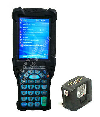 Symbol Zebra Motorola Mc9090 Wireless Laser Barcode Scanner Computer Bluetooth