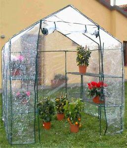 Serra da giardino terrazzo balcone per piante fiori orto for Serra per piante