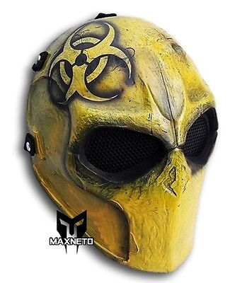 Biohazard Cosplay Airsoft Mask Army of Two Paintball BB Gun Outdoor Prop Gear