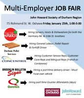 Job Fair- 5 Employers in 1 spot all looking for YOU!