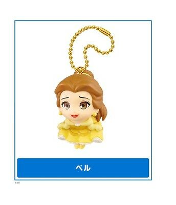 BELLE Disney Princess Heroine Figural Keychain TOMY Takara Japan NEW