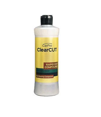 CarPro ClearCut Fast Cut Compound Car Detailing Paint Correction 500 ml -