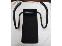 Weider ab crunch trainer 2 sit-up abdominal roller trainer core worker